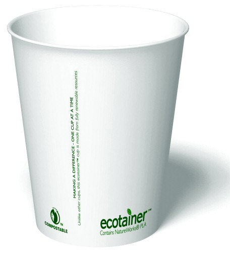 Compostable Paper Cups & Lids