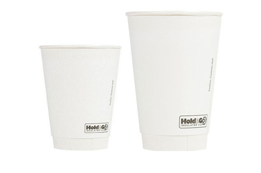 Recyclable Double-Walled Cups & Lids