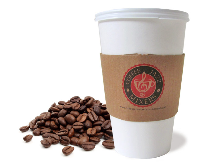 Custom Printed Coffee Sleeves