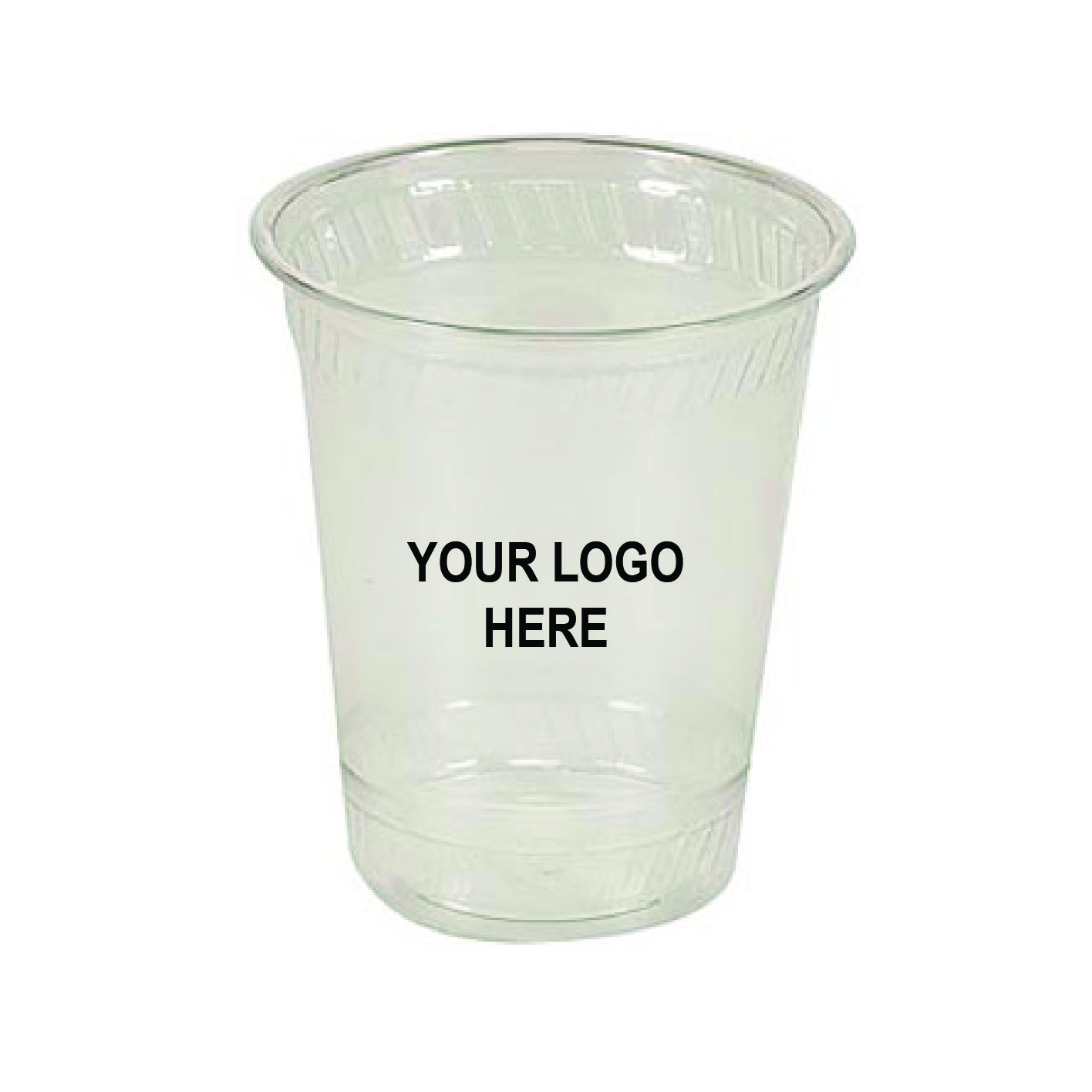 16 oz Custom Printed Compostable Plastic