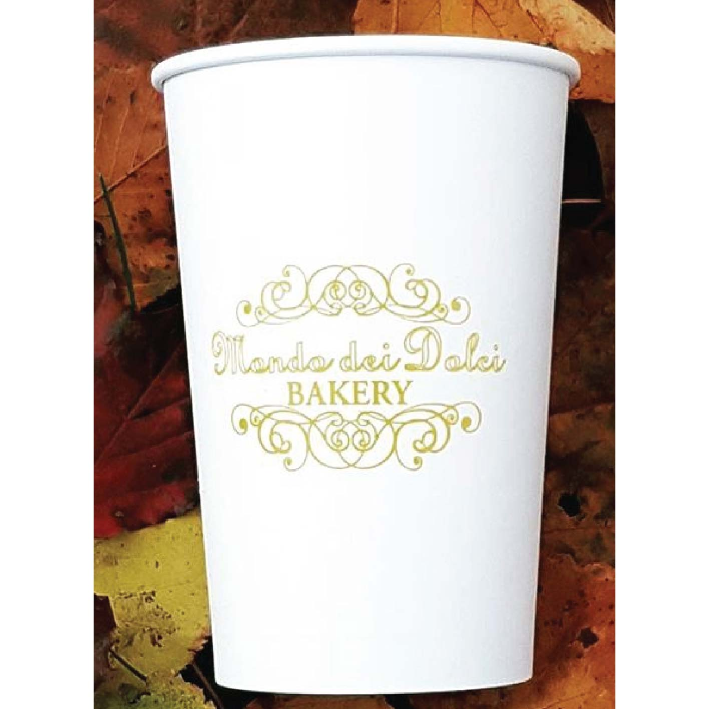 16 oz. Custom Printed Recyclable Paper