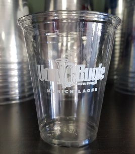 7 oz. Custom Printed Recyclable Plastic