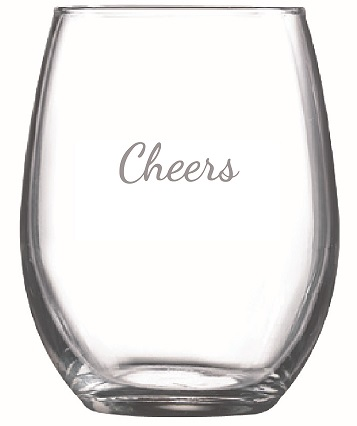 9 oz. Perfection Stemless Wine Glasses (Set of 4)