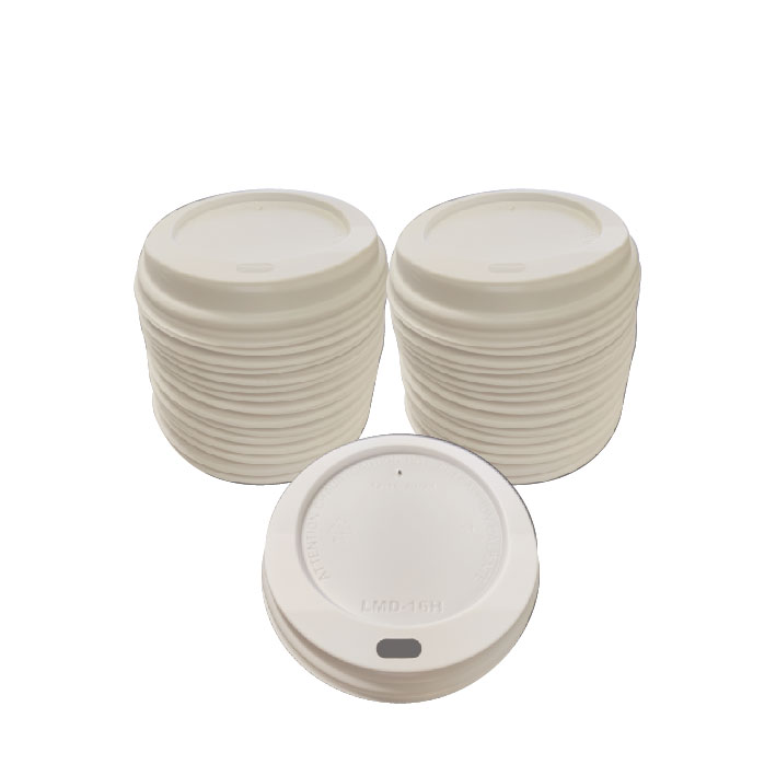 White Dome Lid (100/Pack)