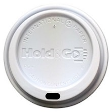 8 oz. Hold & Go White Dome Lid (1,200/Case)
