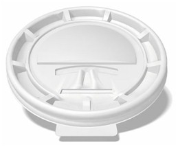 8 oz. Vending Lock Back Lid (1,000/Case)