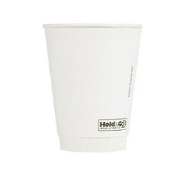 8 oz. Recyclable Double Walled Paper Cup (600/Case)