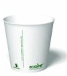 10 oz. Biodegradable Paper Cup