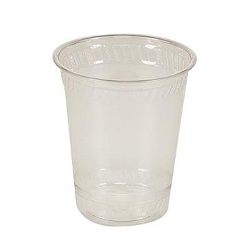 12 oz. Biodegradable Clear Plastic Cup