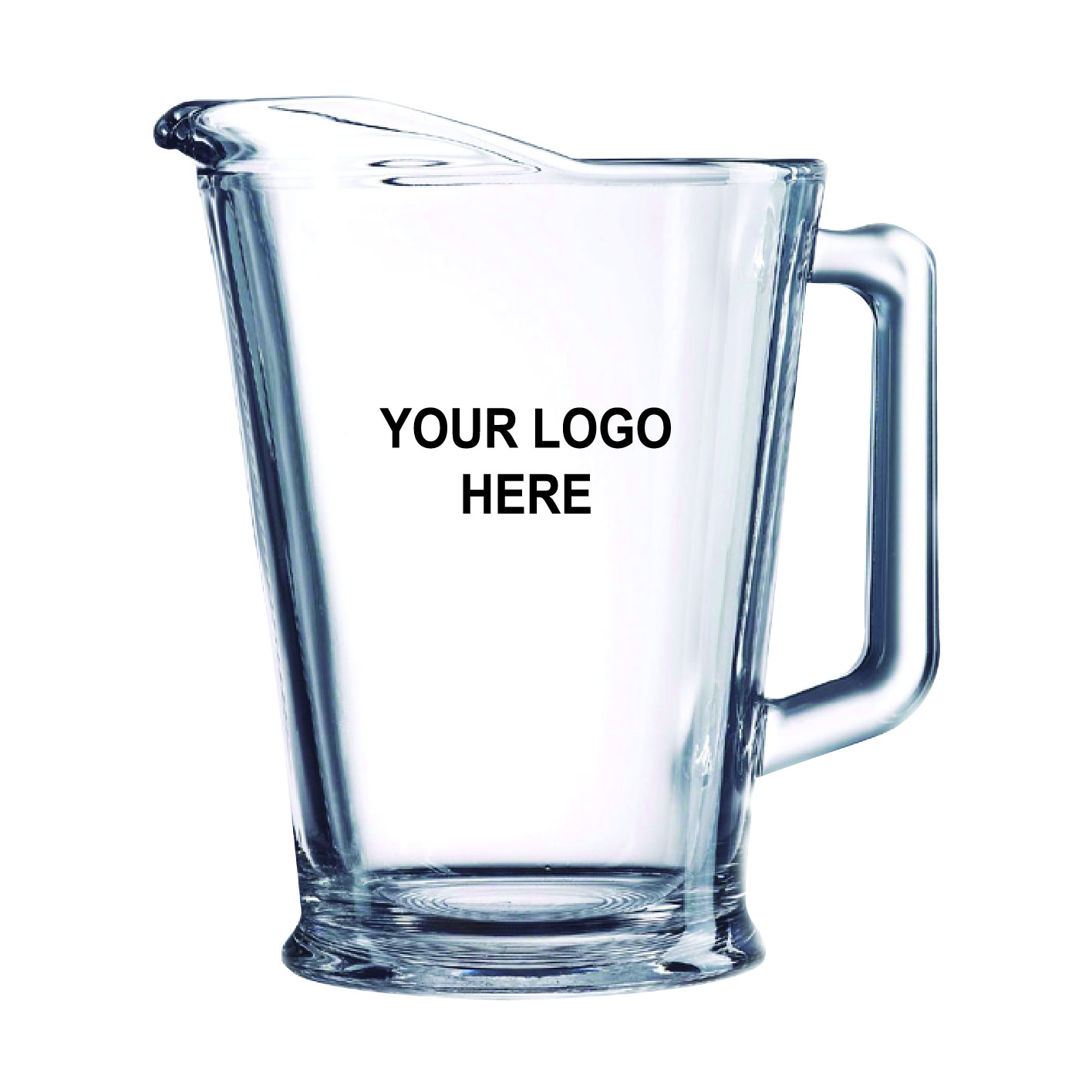 60 oz Custom Printed Pitcher (6/CS)