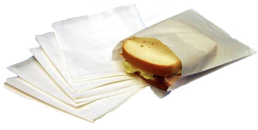 Large Dry Wax Sandwich Bag