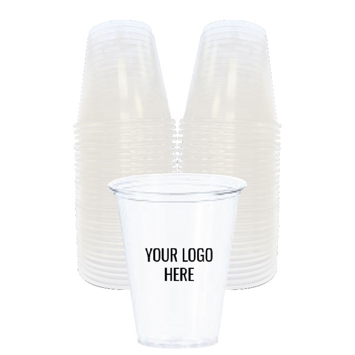 7 oz. Custom Printed Recyclable Plastic (100/Pack)