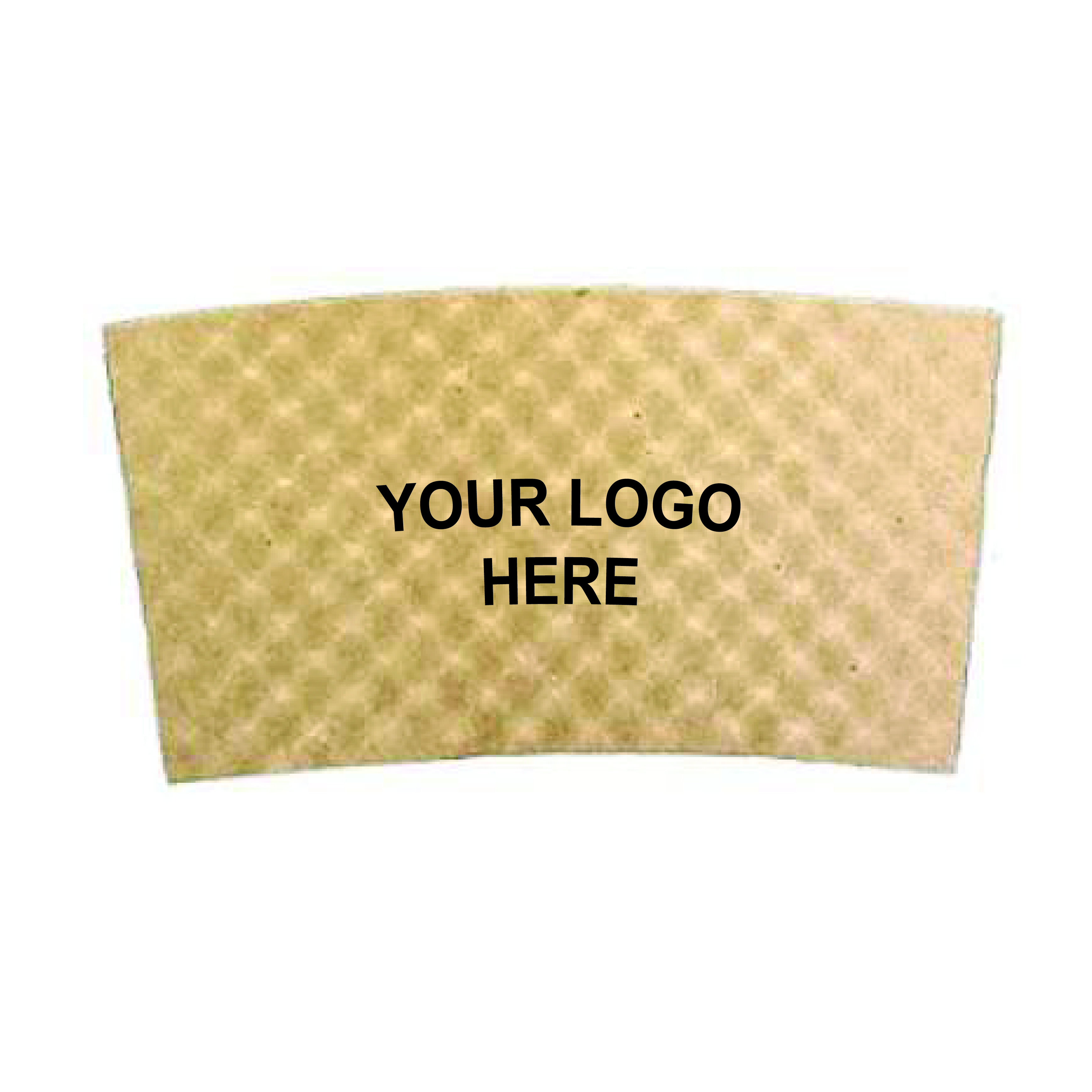 Custom Printed Kraft Brown Coffee Sleeve (1,300/Case)