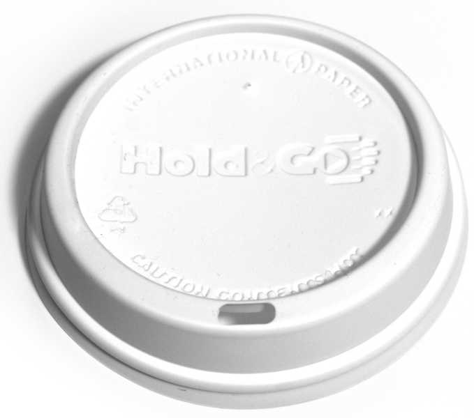 Hold & Go White Dome Lid