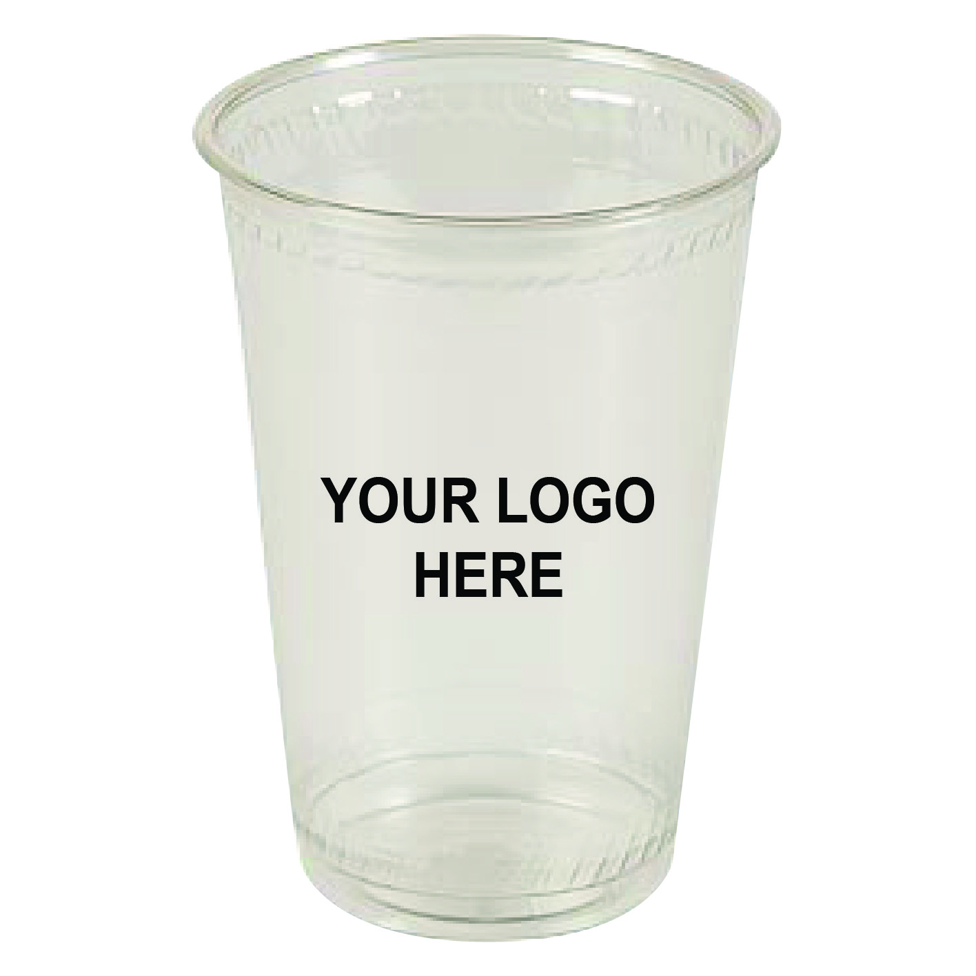 32 oz Clear PLA Plastic Cups (300/Case)