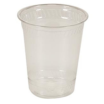 16 oz. Compostable Clear Plastic Cup