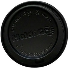 8 oz. Hold & Go Black Dome Lid