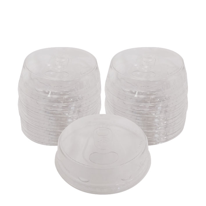 12/20 oz. Recyclable Plastic Beer Sip Lid (100/Pack)