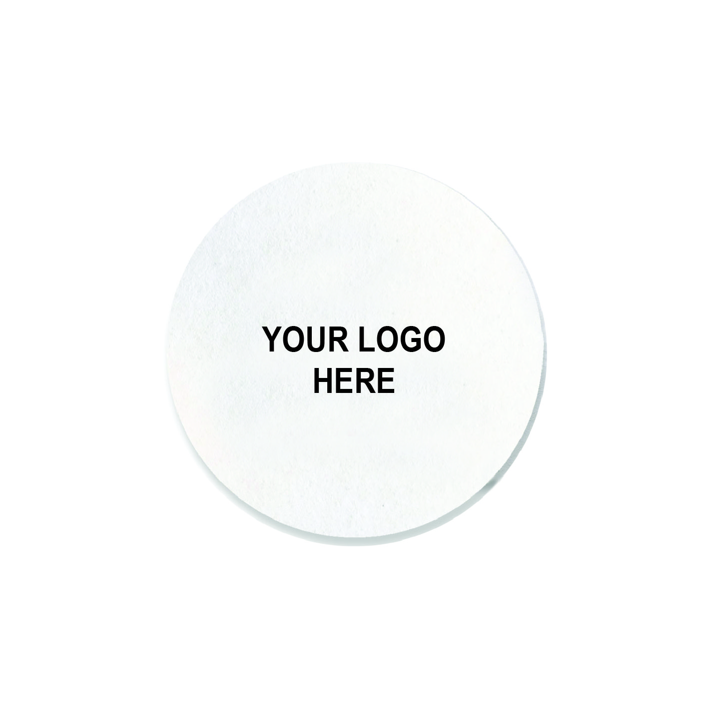 "Light-weight 3.5"" round coaster (1,000/CS)"
