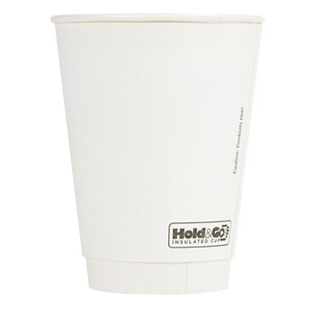12 oz. Recyclable Double Walled Paper Cup (600/Case)