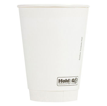 16 oz. Recyclable Double Walled Paper Cup (600/Case)