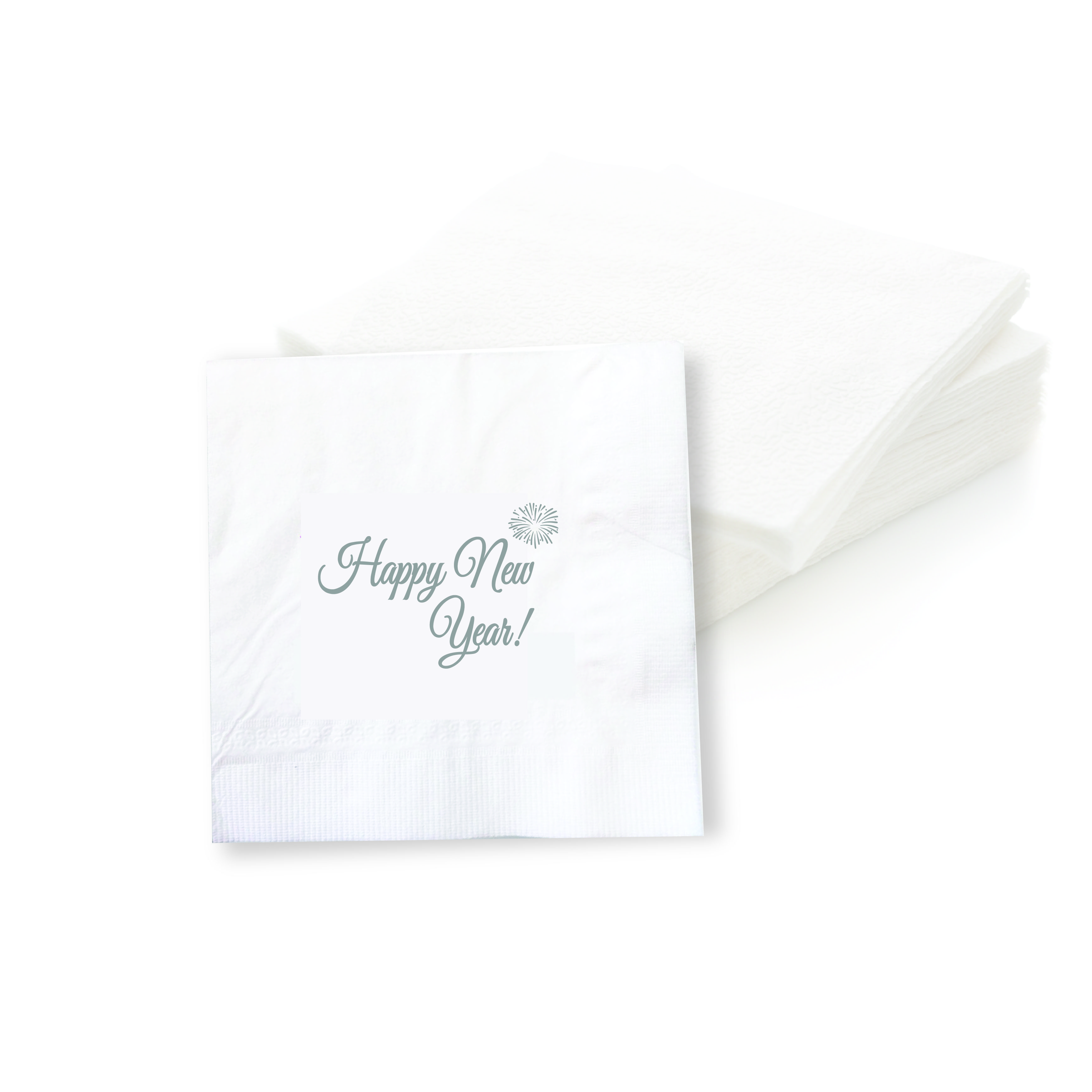 Happy New Year! Cocktail Napkins (Set of 50 Pieces)