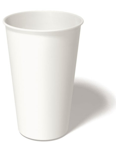 16 oz. Recyclable Paper Cup (1,000/Case)