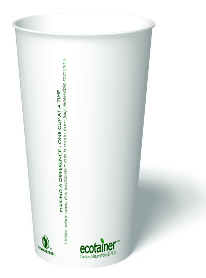20 oz. Compostable Paper Cup